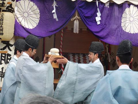 六所神社から各神社へ