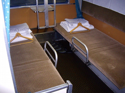 B寝台座席20090111