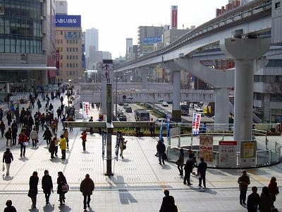 小倉駅前20090207