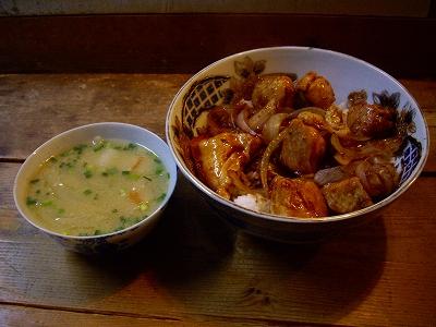 焼き鳥丼20090207