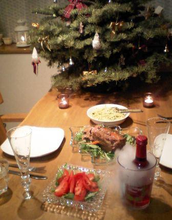 クリスマスの食卓☆