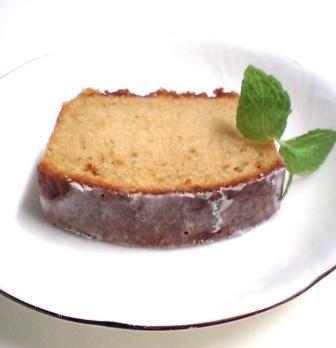 レモンときび砂糖のケーキ