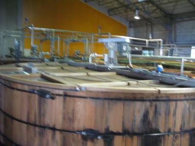 麦汁発酵槽