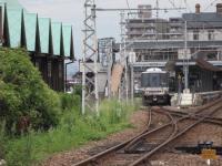 長浜駅と電車~~