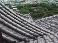 屋根の重なり