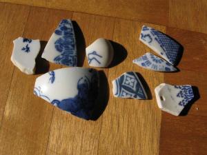 陶器の欠片
