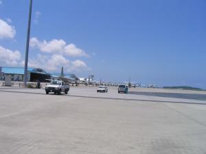 空港だーー