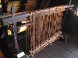 ムシロ編み機