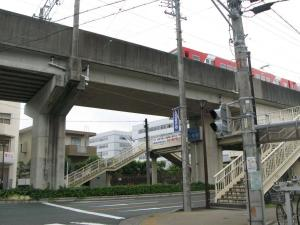 歩道橋??