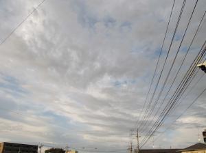 橋の上の雲