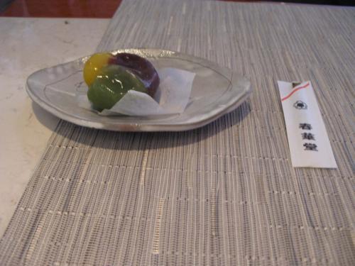 栗の生菓子