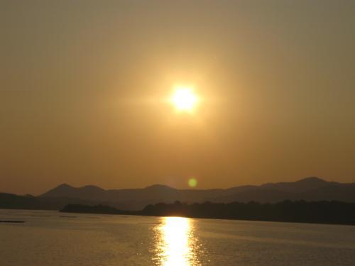 再び浜名湖