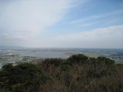 蔵王山展望台より