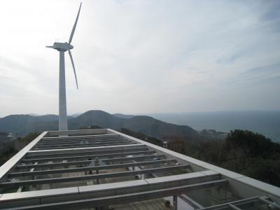 海と風力発電