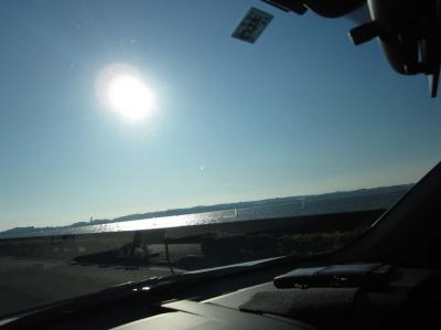 浜名湖でウインドサーフィン♪