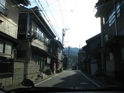 漁師町の道