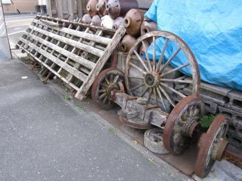 馬車の車輪???