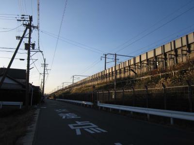 新幹線架線