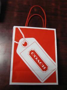 COACHの袋