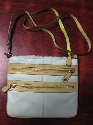 COACHの革バッグ