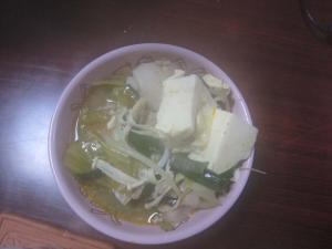 ゴマ鍋1杯
