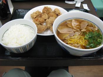 鴨蕎麦定食