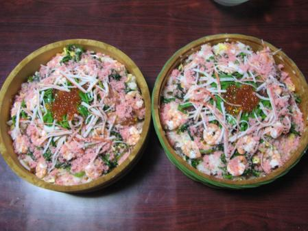 ちらし寿司×2