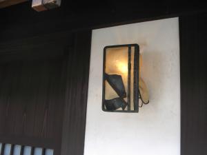 素敵な門灯
