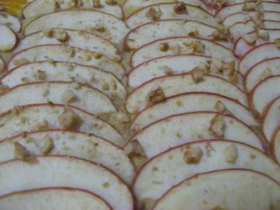 リンゴのパイ