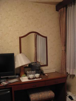 ホテルのお部屋