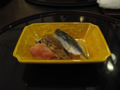 ママカリとアナゴのお寿司