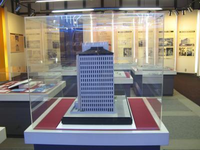 クラボウ本社ビル模型