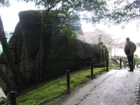 巨石とEちゃん