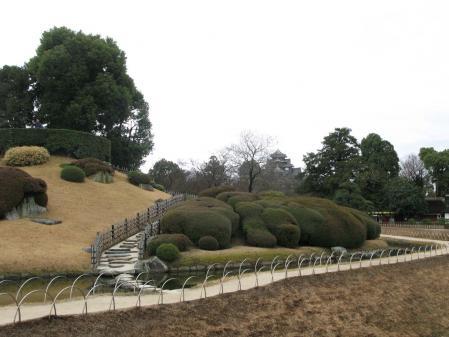 唯心山と岡山城