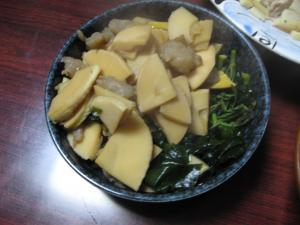 タケノコ煮