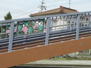 ブドウな歩道橋