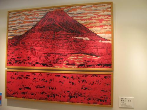 赤富士 上下