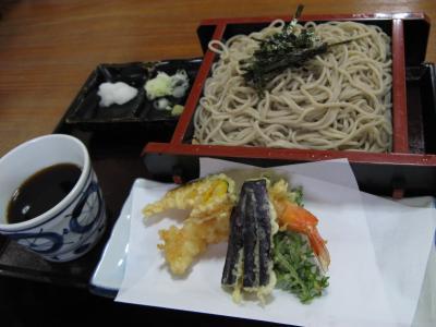 天ぷらザル蕎麦