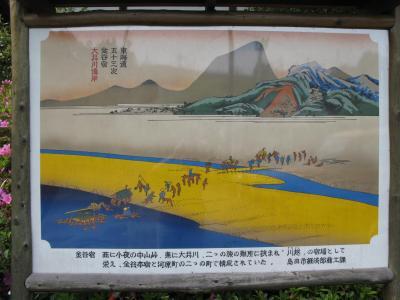 東海道五十三次 金谷宿
