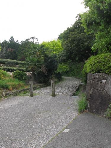東海道石畳上り口