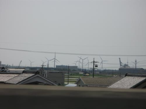 風力発電群