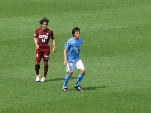 前田選手と宮本選手