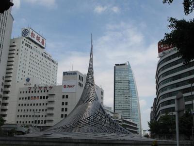 オブジェと松坂屋