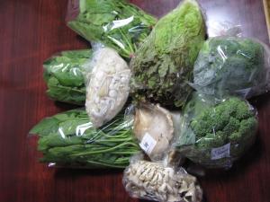飯田の野菜