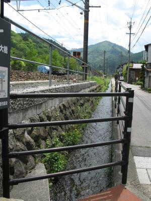 線路と水路