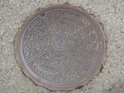 奈良井 マンホール