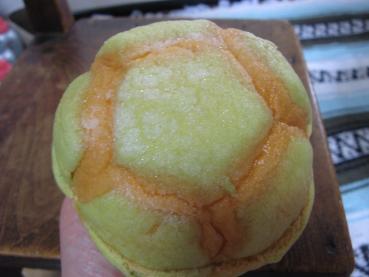 メロンホイップメロンパン