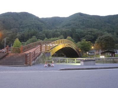 道の駅『奈良井木曽の大橋』