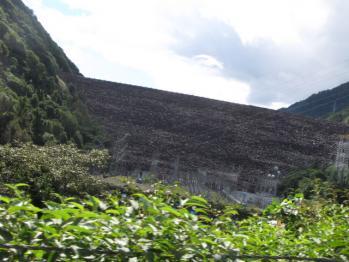 ロックフィル式ダム