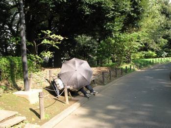 傘おじさん